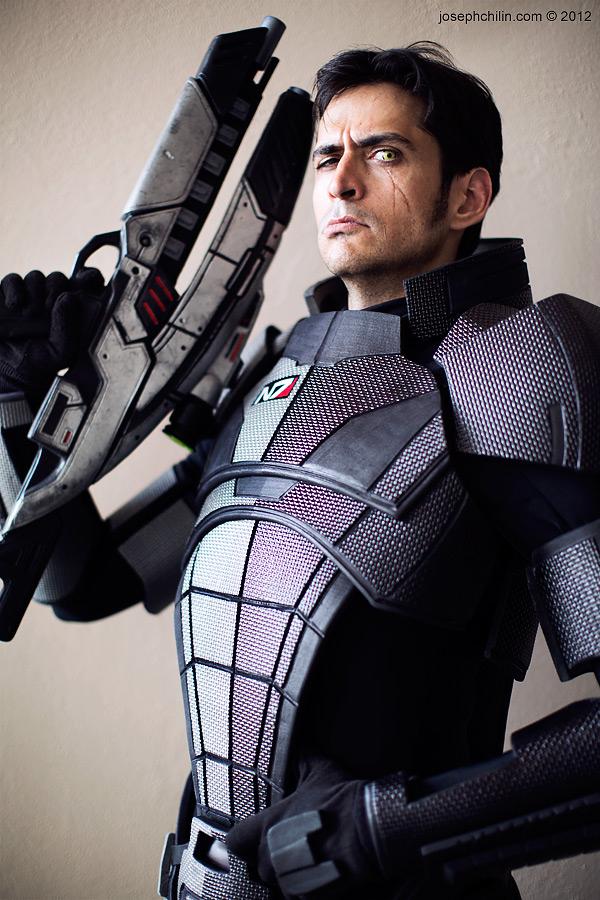 Renegade Commander Shepard by Mark Meer