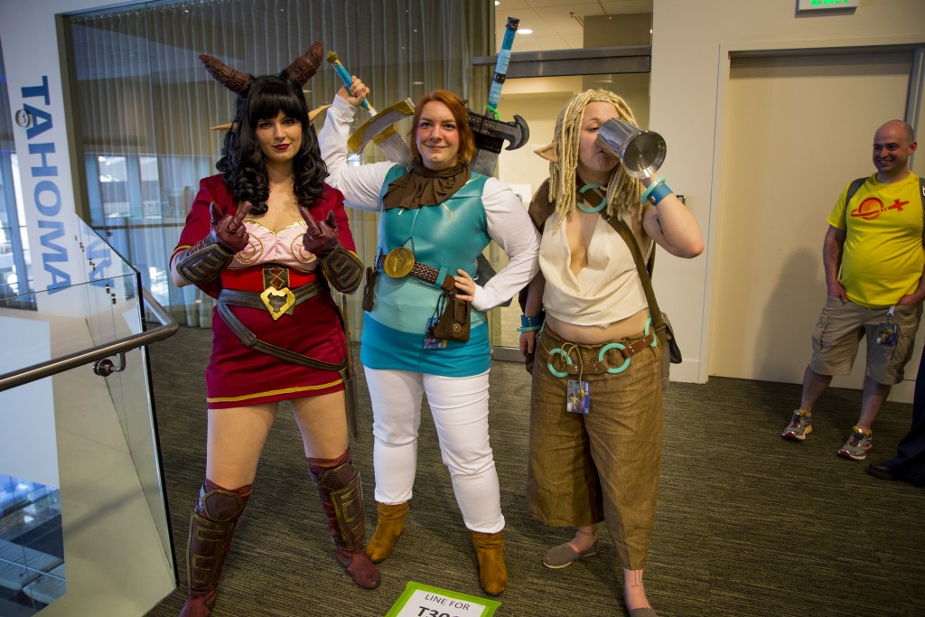 Rat Queens cosplayers at Emerald City Comicon 2016 in Seattle, WA.