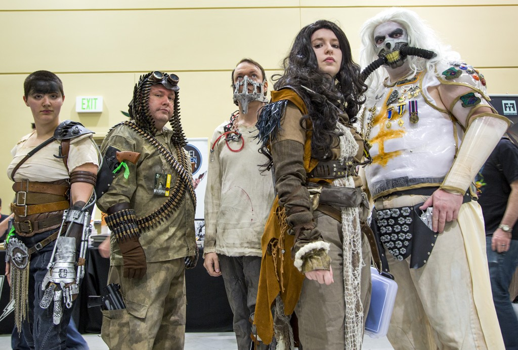 Mad Max: Fury Road cosplayers at Emerald City Comicon 2016 in Seattle, WA.