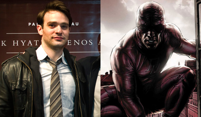 Charlie Cox will be playing Matt Murdock in the Netflix series.