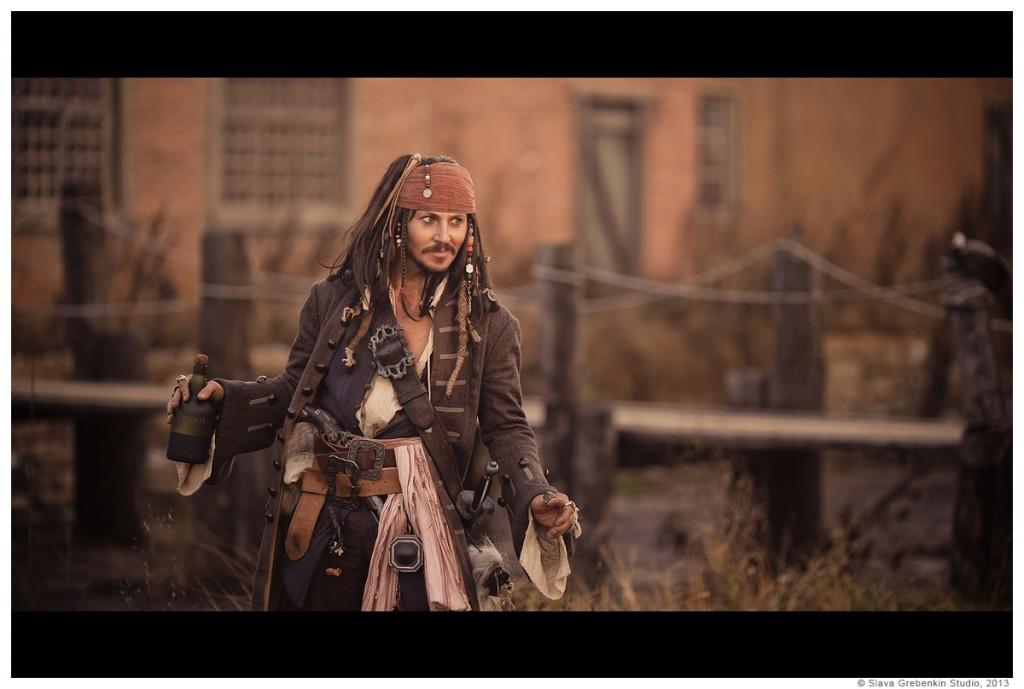Captain Jack Sparrow by Vitaly Sparoff Photography by Slava-Grebenkin
