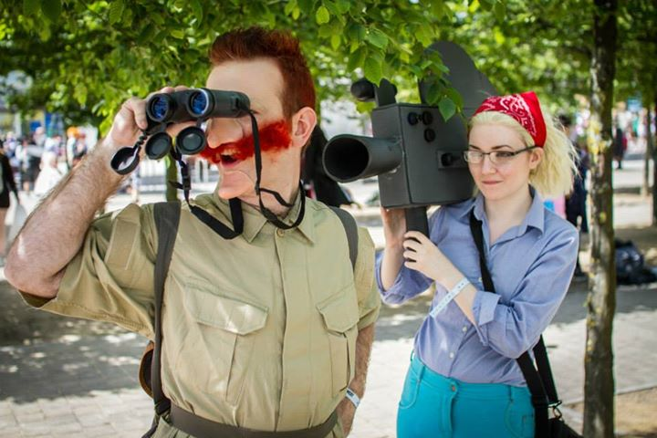 Nigel Thornberry by Joshua Walker Marianne Thornberry by Voxophone Cosplay Photography by Nick Acott Photography