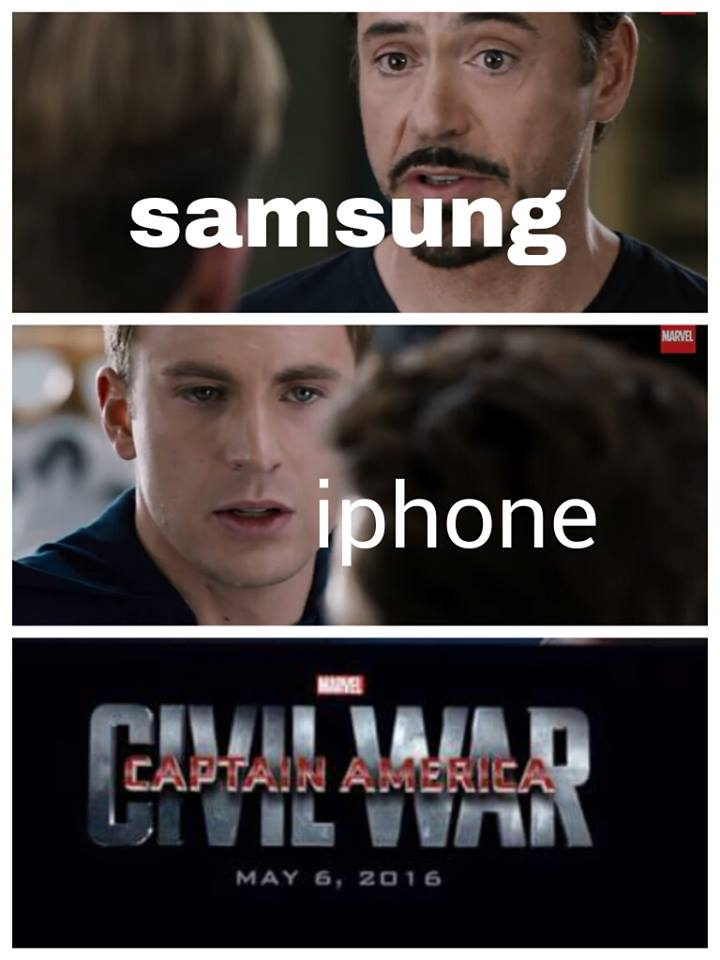 Marvel Civil War Meme Template for Pinterest