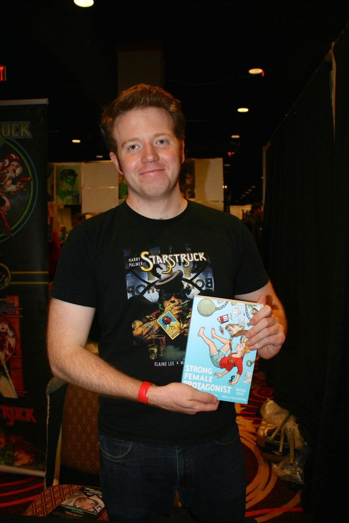 Comic book artist Brennan Lee Mulligan.