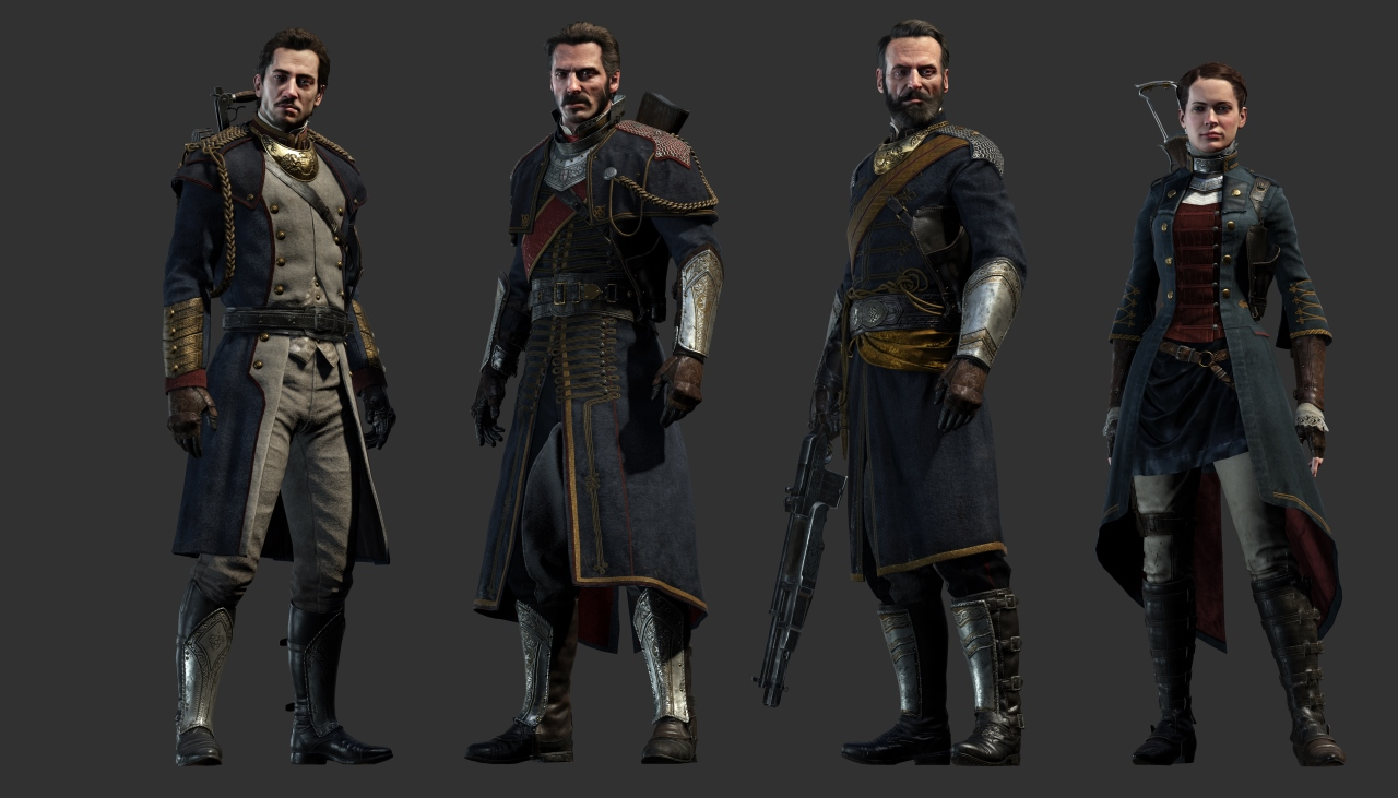 The-Order-1886-Character-Renders