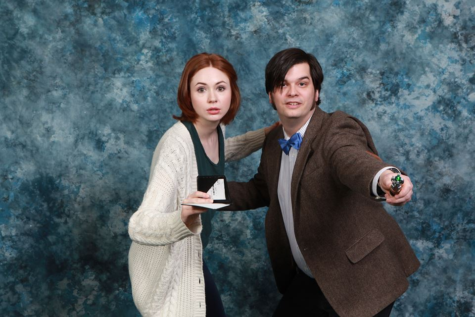 Karen Gillan at a Photo Op at Toroto Comic Con. Photo courtesy of Chris.