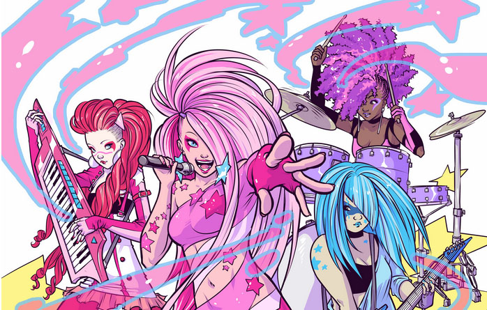 Jem and the holograms photo album-4559
