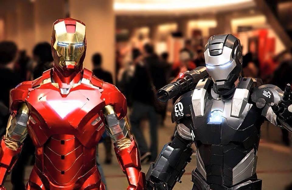 iron man war machine cosplay