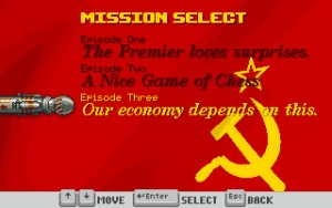 For Mother Russia...er, USSR.