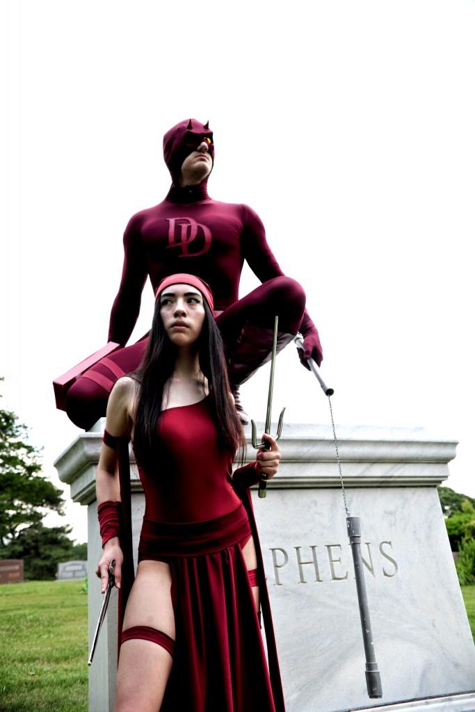 daredevil elektra cosplay
