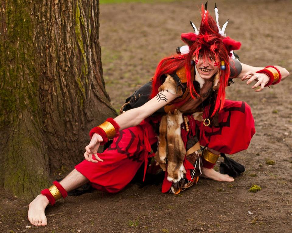 Red XIII (Final Fantasy) by Ulfgar Props  Photography by Tom Good