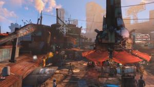 Fallout 4 Diamond City Fenway Park