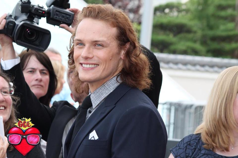 Sam Heughan at the Monte-Carlo Tv Festival 2015. Photograph by Elodie Peyrano for The GCE
