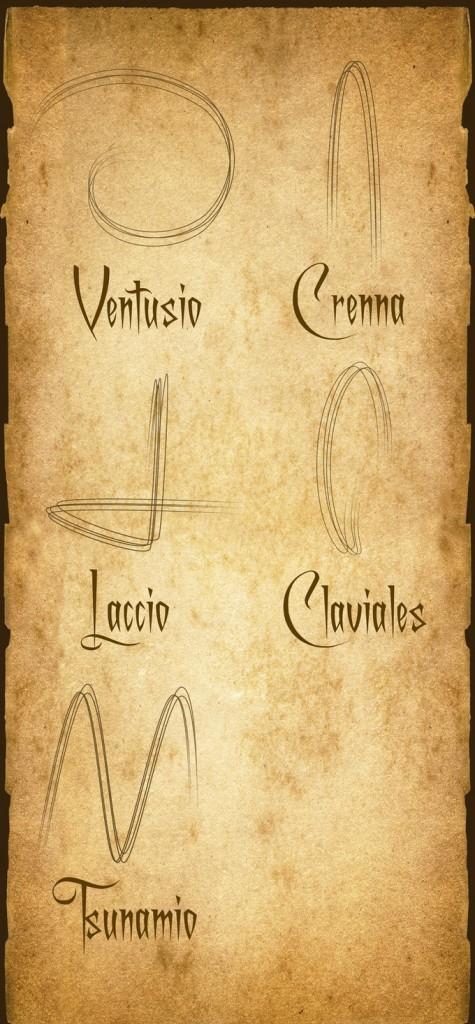 maguss wand spells
