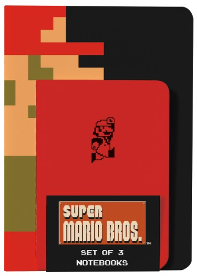 Super Mario Notebooks by AbramsBooks.