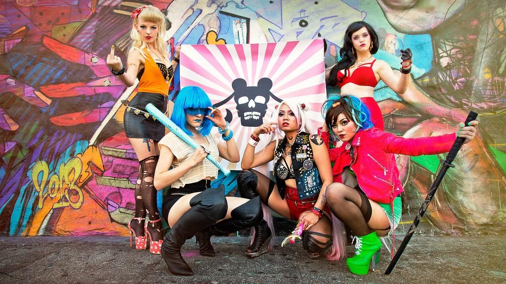 sailor moon biker cosplay group 1