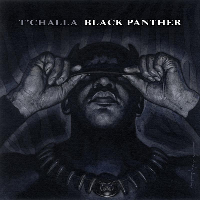 Black Panter Hip-Hop Variant Cover, Provided by Marvel.