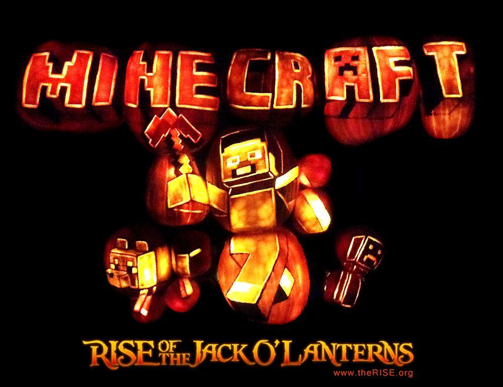 minecraft pumpkins the rise