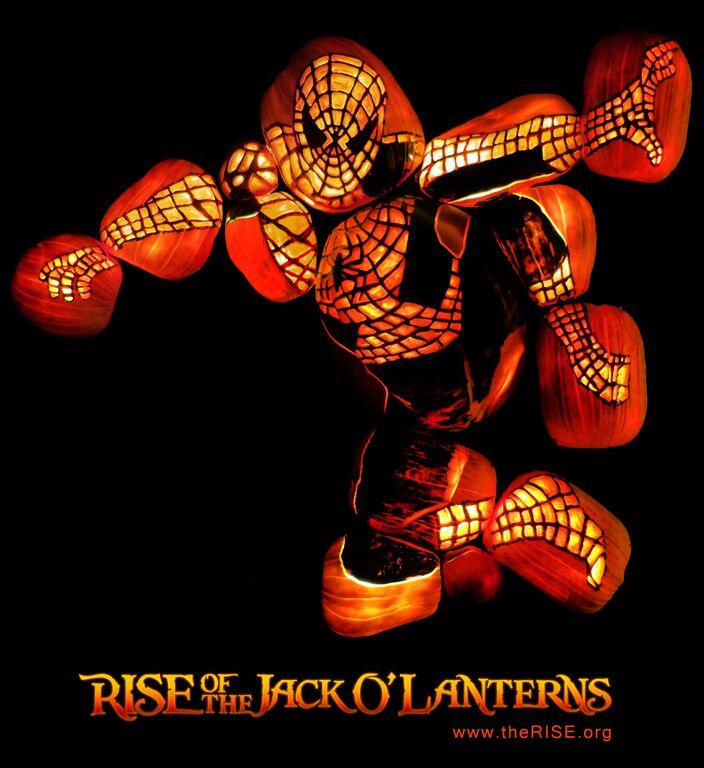 spider-man pumpkins the rise