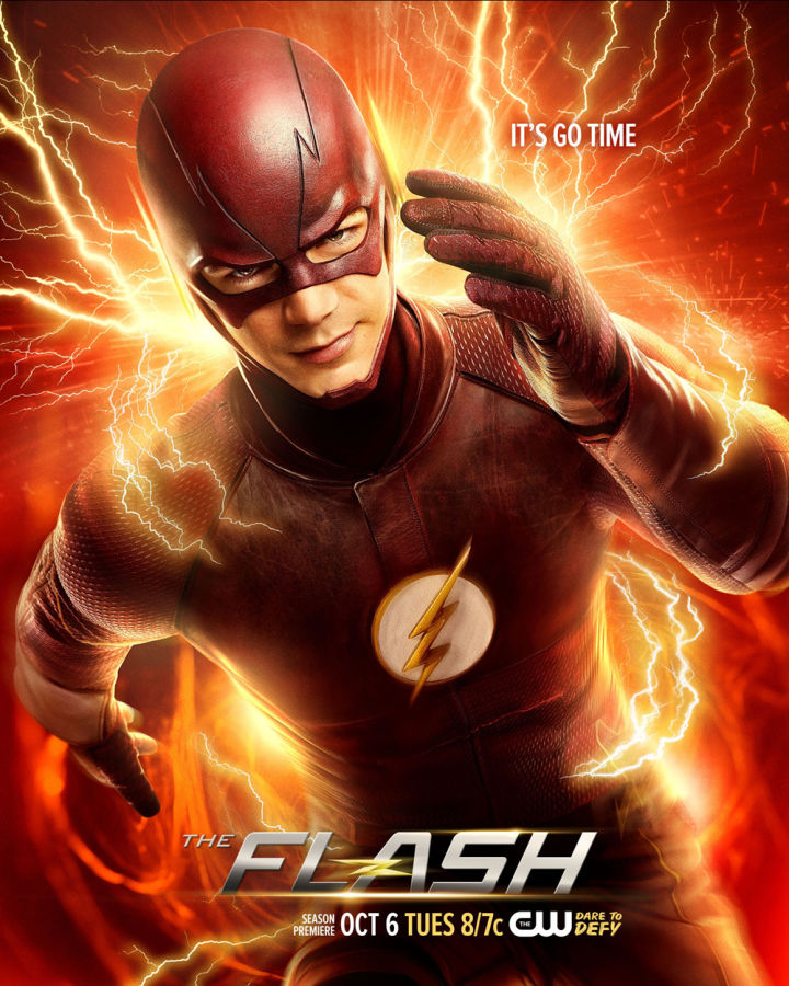 The Flash -- Image Number: FLA02_KeyArt.jpg -- Pictured: Grant Gustin as Barry Allen/The Flash -- Photo: Nino Munoz/The CW -- © 2015 The CW Network, LLC. All rights reserved.