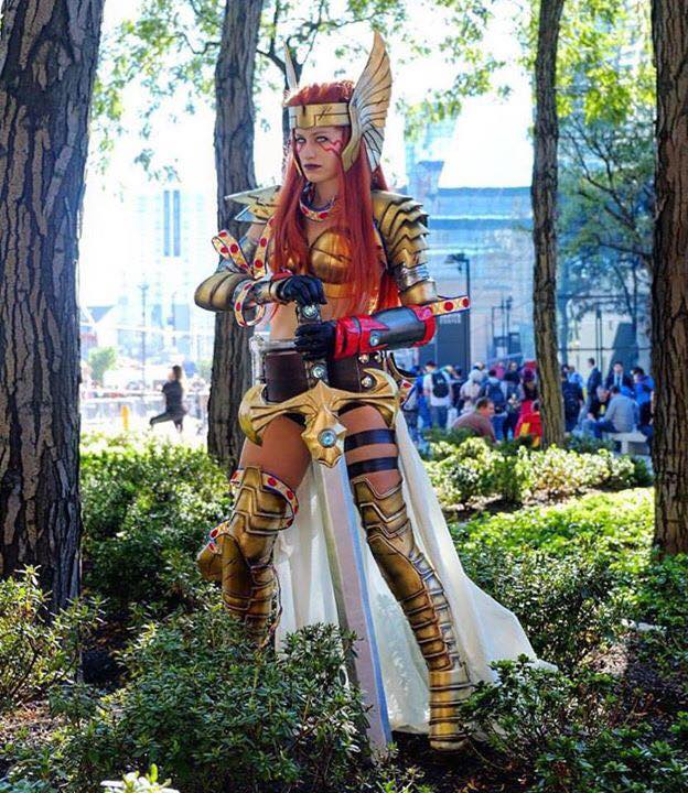 peppermonster angela cosplay