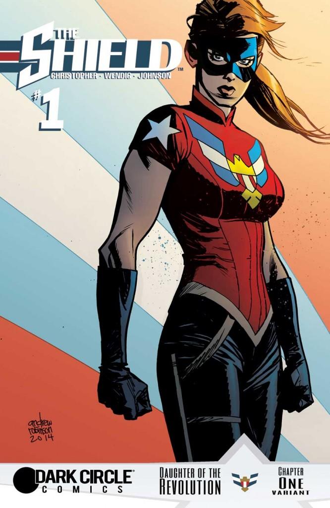 The Shield #1Variant-Robinson