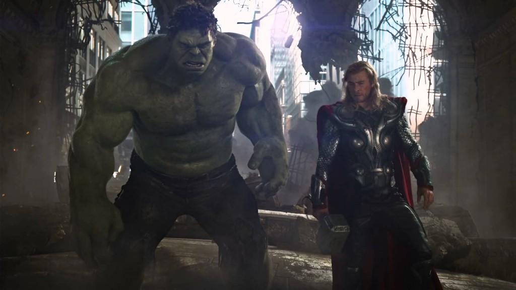 hulk thor avengers