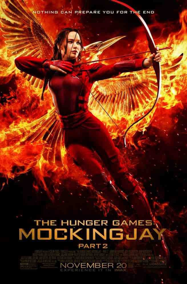 hunger games poster mockingjay pt 2