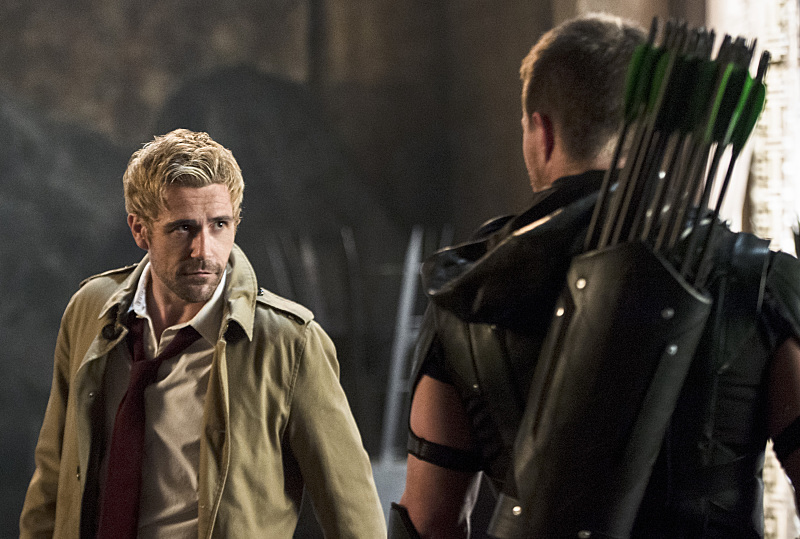 constantine and green arrow