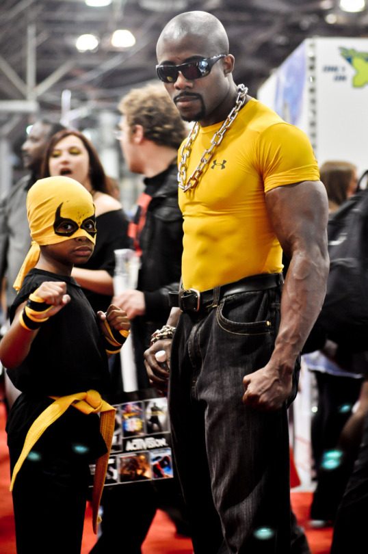 luke cage iron fist cosplay