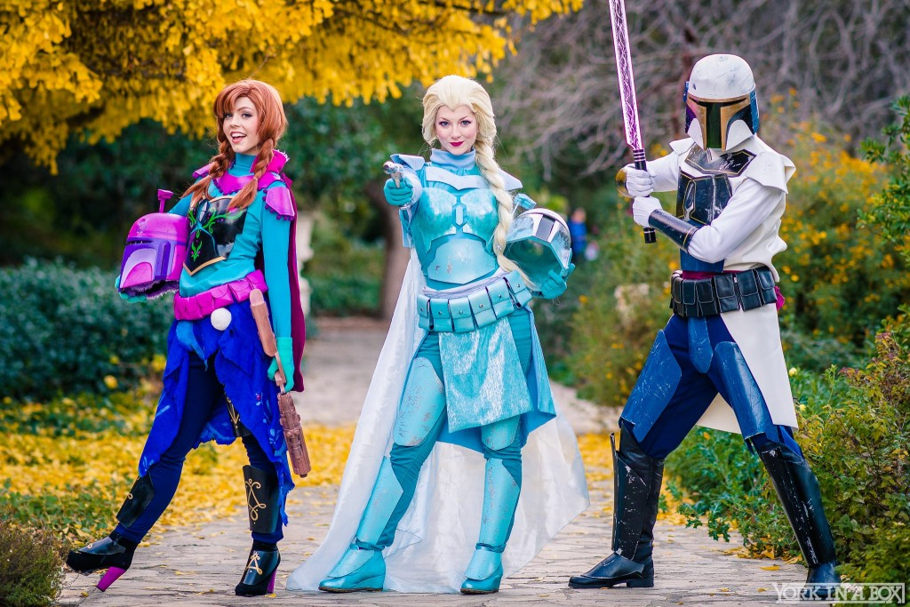 star wars disney cosplay frozen