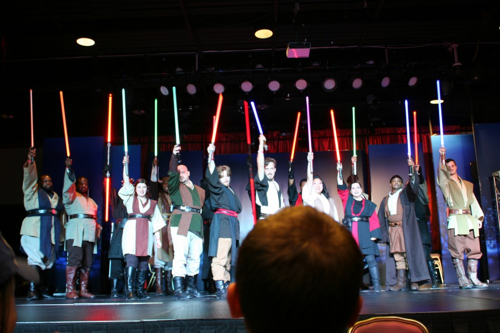 The Saber Guild takes a bow