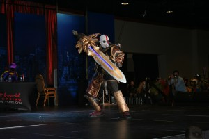Kratos (won cosplay contest)