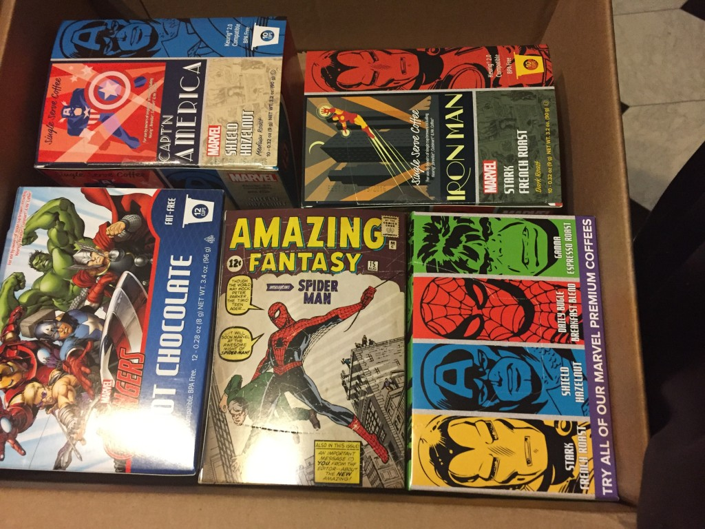 Box of Marvel java