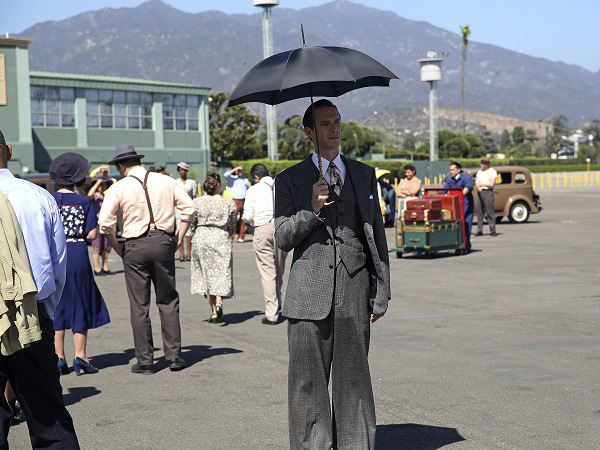 """MARVEL'S AGENT CARTER - """"The Lady in the Lake"""" - In the season premiere episode, """"The Lady in the Lake,"""" Peggy moves to the City of Angels to help Chief Daniel Sousa at the West Coast Strategic Scientific Reserve (SSR) investigate a bizarre homicide involving an alleged killer and Isodyne Energy, and reunites with some familiar faces. """"Marvel's Agent Carter"""" returns for a second season of adventure and intrigue, starring Hayley Atwell in the titular role of the unstoppable agent for the SSR (Strategic Scientific Reserve), TUESDAY, JANUARY 19 (9:00-10:00 p.m. EST) on the ABC Television Network. (ABC/Patrick Wymore) JAMES D'ARCY"""