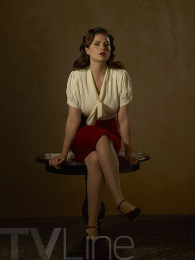 Hayley Atwell as Agent Peggy Carter