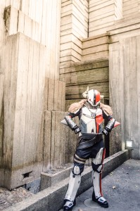 Punished Props as Lord Shaxx from Destiny