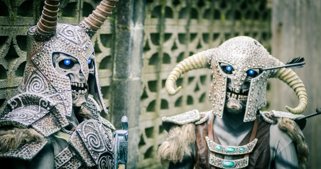 His Draughrs from Elder Scrolls V: Skyrim Cosplay