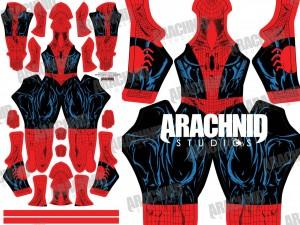 Todd McFarlane Suit Design created by Arachnid Studios.