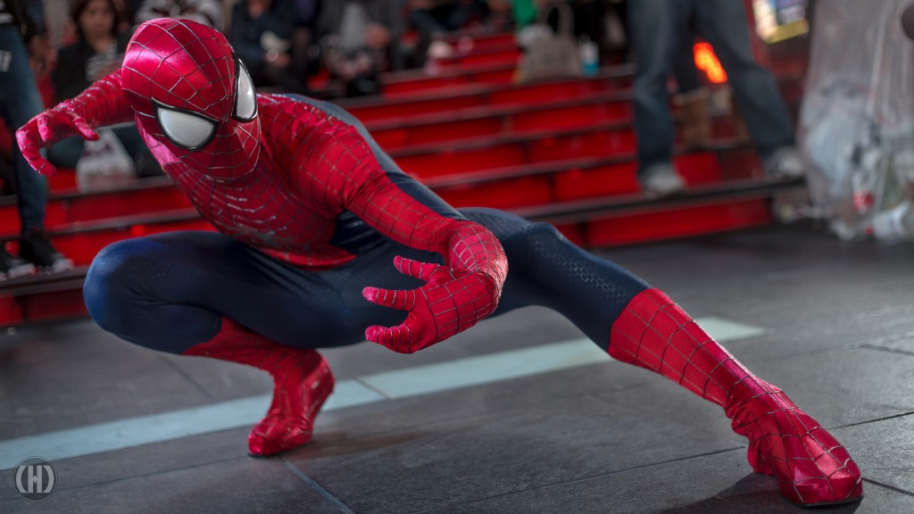 Brandon Gilbert in his TASM 2 Spiderman Suit