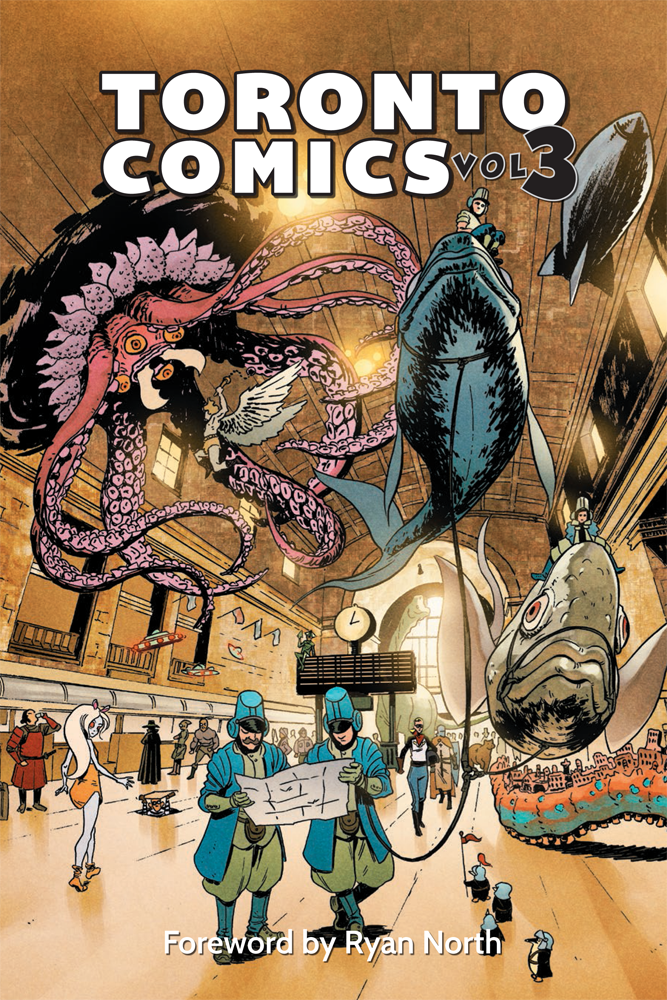 Toronto Comics Volume 3 Alpha - Feb 16 - Cover