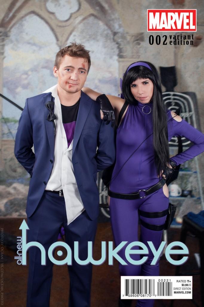 hawkeye cosplay 2