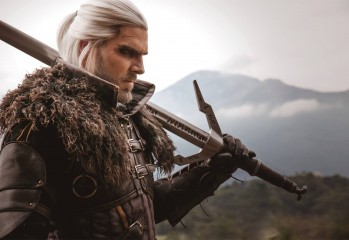 geralt de rivia 2 witcher cosplay