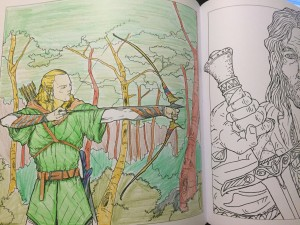 My Legolas as Link.