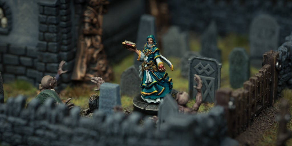This is an exclusive first look at Leoric of the Book from Descent, 2nd Edition