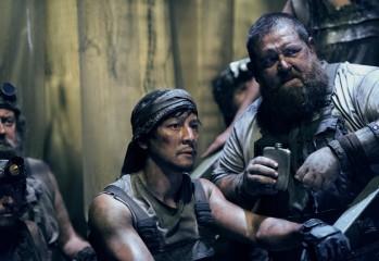 Daniel Wu as Sunny, Nick Frost as Bajie- Into the Badlands _ Season 2, Episode 2 - Photo Credit: Antony Platt/AMC
