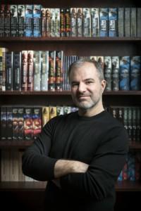 November 20, 2014 - New York, NY : Portrait of author Peter V. Brett. CREDIT: Photo by Karsten Moran for Peter V. Brett