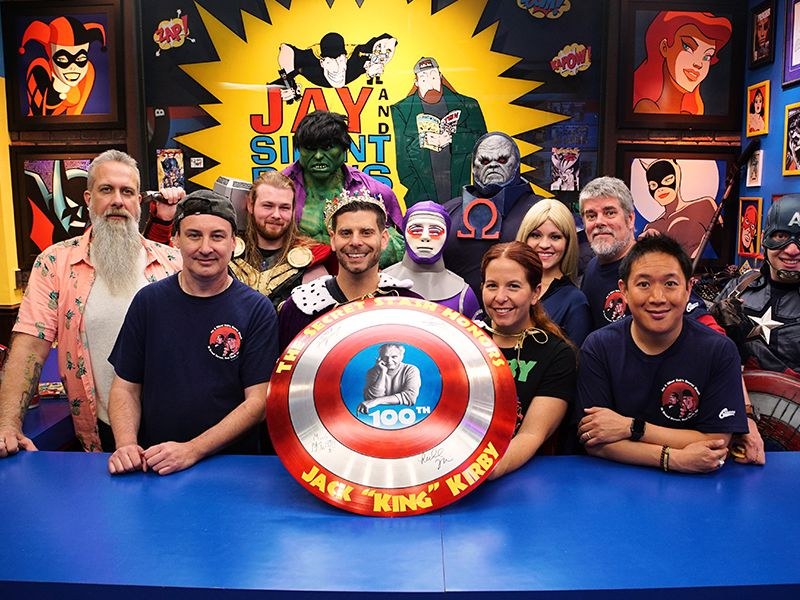 Happy Birthday Images For Men ~ Comic book men season 7 episode 3: happy birthday king kirby!