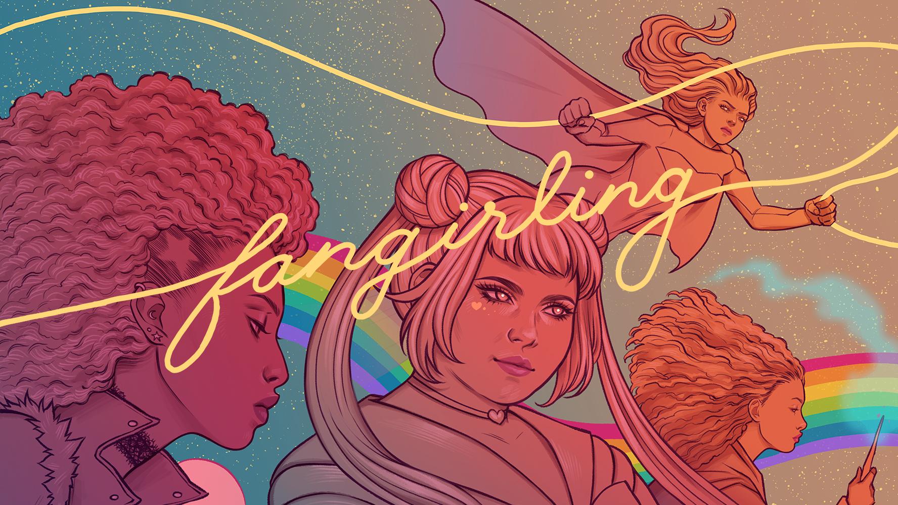 Fangirling Art by Jen Bartel