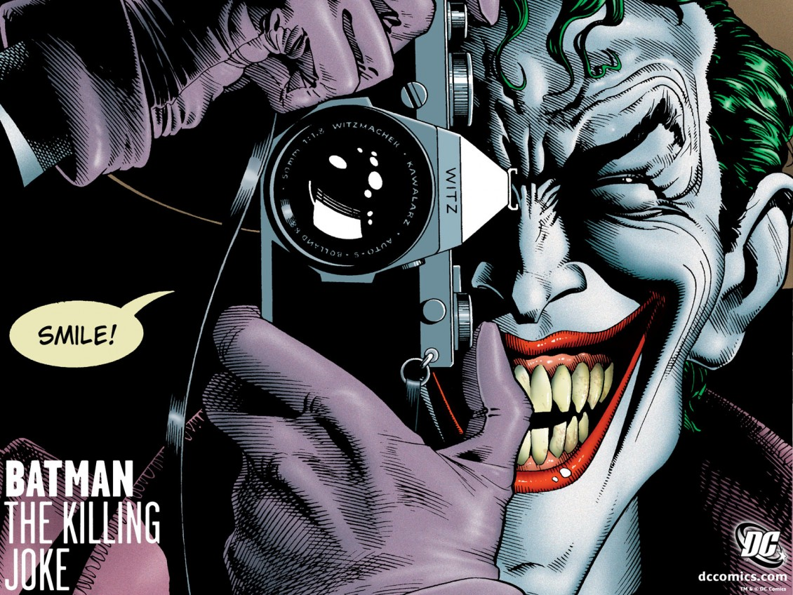 Killing joke batgirl - killing joke rund um die uhr online